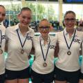 Alphense Synchroonzwemsters pakken medailles op landelijke uitvoeringenwedstrijd Age 2