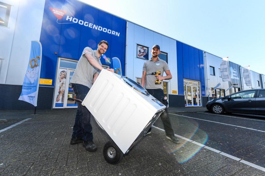 Electro World Hoogendoorn blijft bezorgen, installeren en repareren